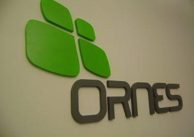 שילוט חברת ORNES